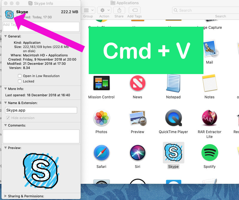 How to change apps and folder icons on Mac